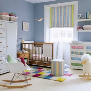 Not our real baby room ... I could only wish